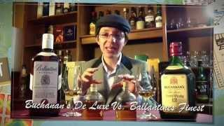 Whisky Masters 30 Buchanan,s De Luxe Vs. Ballantines Finest