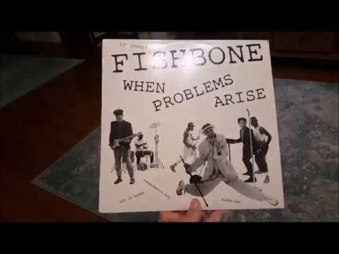 FISHBONE Vinyl Single When Problems Arise (1986) 3 Versions
