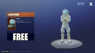 Fortnite Battle Royale - HOW TO GET FREE LEVIATHAN OUTFIT!