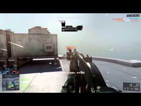 Battlefield 4 - Funny Flying Body
