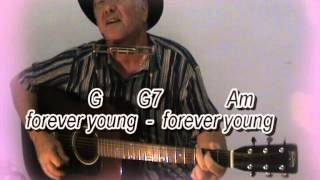 Forever Young - Bob Dylan - cover with chords & lyrics