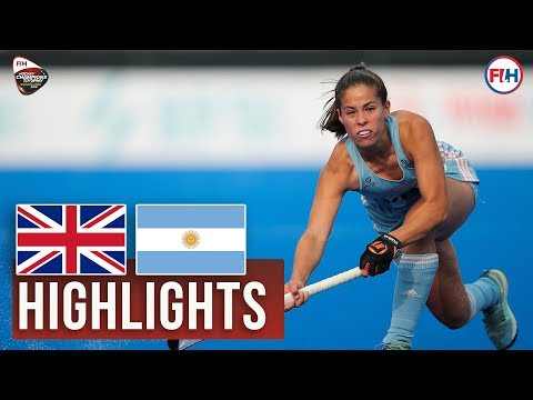 Great Britain v Argentina | 2018 Women's Champions Trophy | HIGHLIGHTS