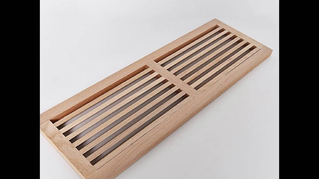 Buy wood vents white oak wooden floor register floor for 6x12 wood floor register