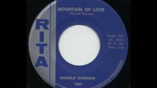 Harold Dorman - Mountain Of Love (Original version without strings)