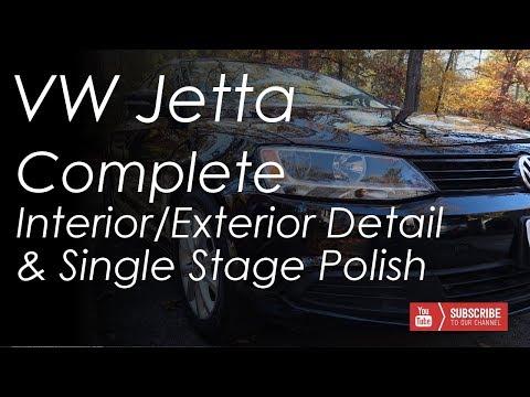 Complete Interior & Exterior Detail & Single Stage Polish -- VW Jetta