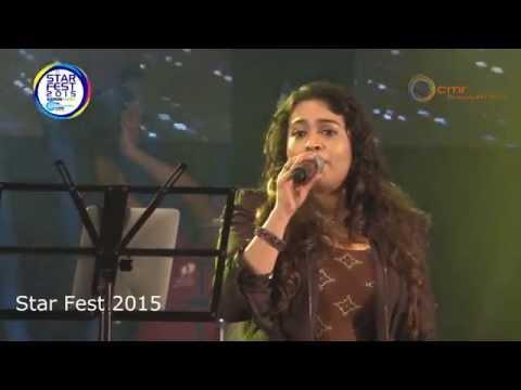 Yennai Arindhaal - Yaen Ennai   Sunitha Sarathy   Cmr star fest 2015