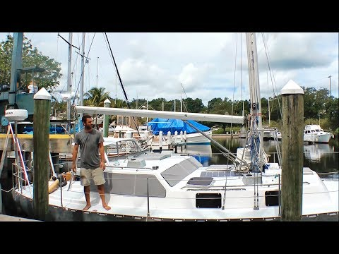 Our Great Escape From the Work Yard to the Water (MJ Sailing - EP 23)