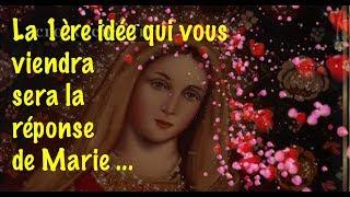 LA 1ERE IDEE QUI VOUS VIENDRA SERA LA REPONSE DE MARIE ...