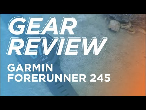 Gear Review: Garmin Forerunner 245