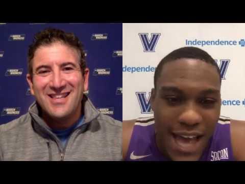 Furman upsets Villanova and here's Jordan Lyons' recap with Andy Katz