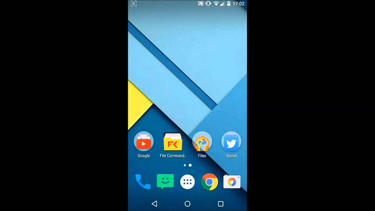 android lollipop 5 0 bug no google search bar