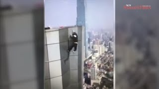 Famed Chinese rooftopper falls to his death from 62 storey building