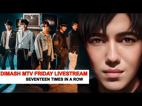 Seventeen times in a row! Dimash at second place – MTV Friday Livestream, who is the first?