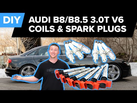 Audi S4, Q5, & Q7 Ignition Coil & Spark Plug Replacement DIY (B8/B8.5 3.0t V6 Supercharged Engine)