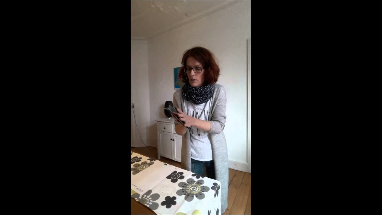 Sådan tager du dine håndaftryk - YouTube