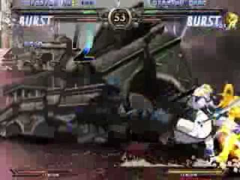 Never give up! #1 Guilty Gear x2 Mission No: 100 GOLD EX Sol Badguy |