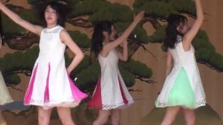 平成29年度弘前さくらまつりで行われたりんご娘(リンゴミュージック)...