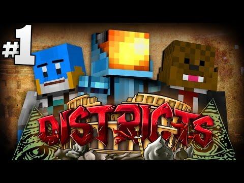 Minecraft The Districts SMP #1 | ILLUMINATI CONFIRMED!? - Minecraft SMP