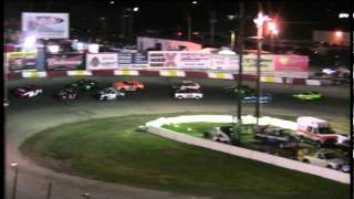 Saturday, July 16, 2011 ~ American Short Trackers ~ Chris Jones, Jack Atchison, & Steve Drays Crash