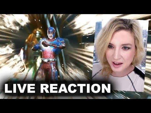 Injustice 2 Atom Trailer REACTION