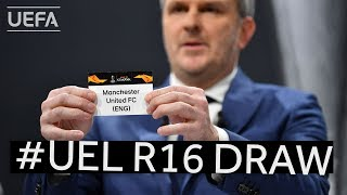 2019/20 UEFA Europa League Round of 16 draw