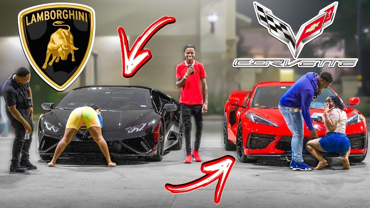 GOLD DIGGER PRANK IN THE HOOD PART 3!