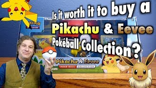 Is it worth it to buy a Pikachu & Eevee Poké Ball Collection? A Pokémon Trading Card Game Review