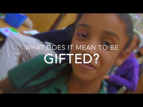 What Does It Mean to Be Gifted?