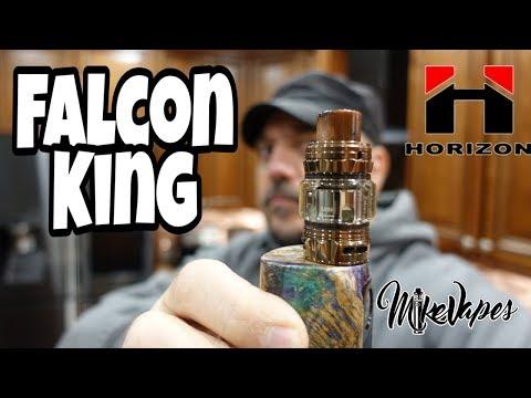 Bamboo Fibers? Falcon King Sub Ohm Tank By Horizon Tech