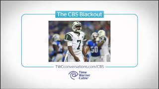 Time Warner Cable CBS Blackout Ad