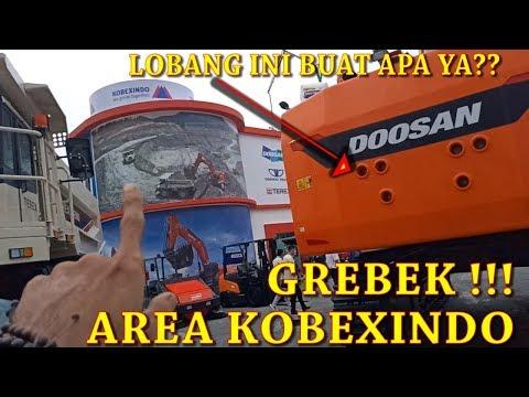 DOOSAN & TEREX ADA !! Grebek Booth Alat Berat