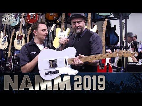 Reverend Guitars Greg Koch Gristlemaster at Namm 2019