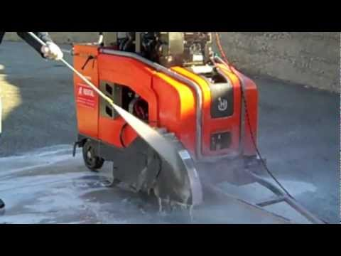 Concrete remover Blast-Off safely dissolves concrete build