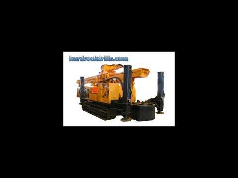 Borehole Drilling Machines hardrock drilling rig