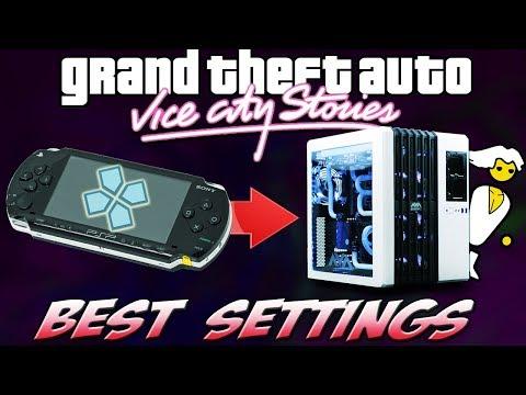 PPSSPP Emulator: BEST PERFORMANCE Settings [GTA Vice City Stories]