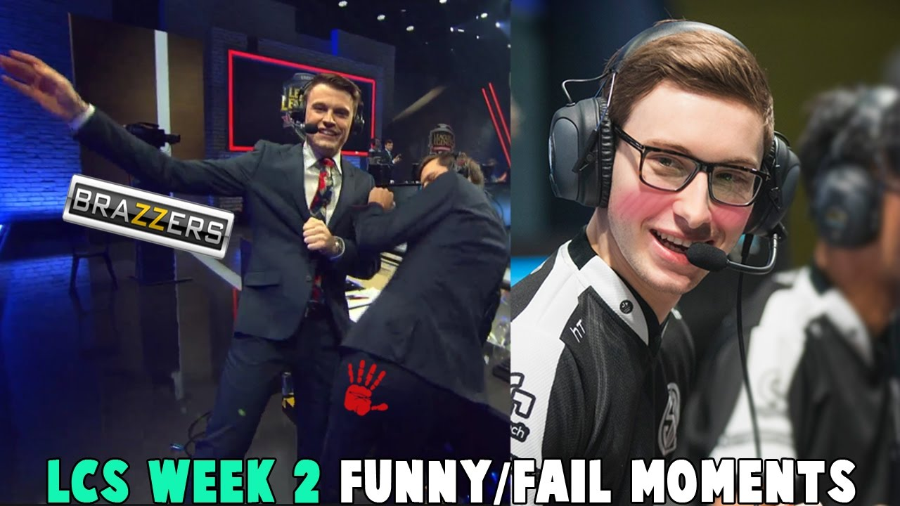 LCS WEEK 2 FUNNY/FAIL MOMENTS   2017 Spring Break up