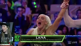 WWE Smackdown 52218 Lana vs Billie Kay MITB Qualifying