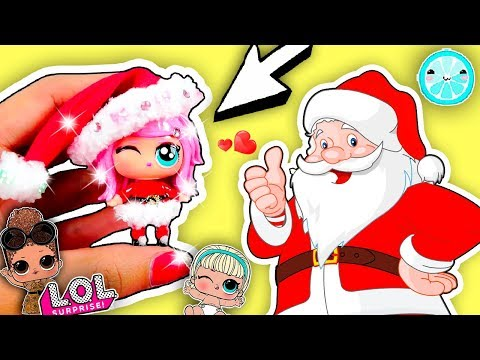 BABY SANTA CLAUS 🎅🏻 LOL Surprise CUSTOM Dolls DIY | Christmas edition