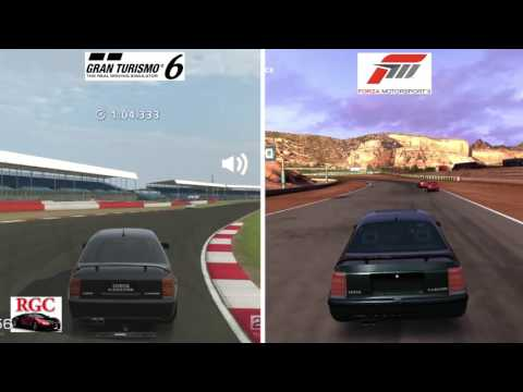 gran turismo 6 vs forza motorsport 3 lotus carlton graphics sound comparison youtube. Black Bedroom Furniture Sets. Home Design Ideas