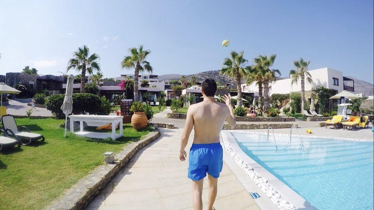 Das Schönste Hotel In Griechenland Ikaros Beach Kreta Urlaub