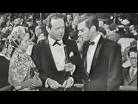 Camelot 1960 Premiere - Robert Goulet, Julie Andrews and Richard Burton,
