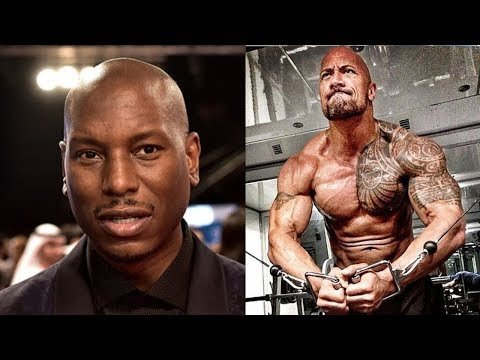 Tyrese Goes at The Rock 'Dwayne Johnson' and says He's GOING BROKE