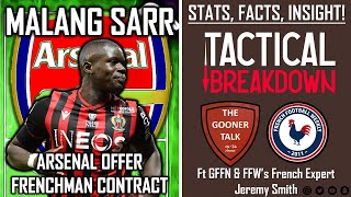 Malang Sarr To Arsenal Stats Facts Insight Tactical Breakdown Ft French Expert Jeremy Smith Youtube