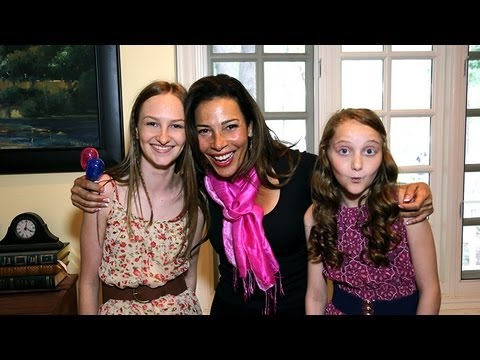 """Marabina Jaimes interview at Erin Murphy, Tabitha of """"Bewitched"""" TV Ranch Warming Party"""