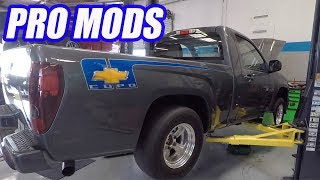 Crazy Swapped Supercharged Copo Colorado is NEW SCHOOL PRO STREET! Also Quips with Cooper