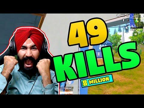 49 KILLS    PUBG MOBILE    AWM & M416 SKILLS