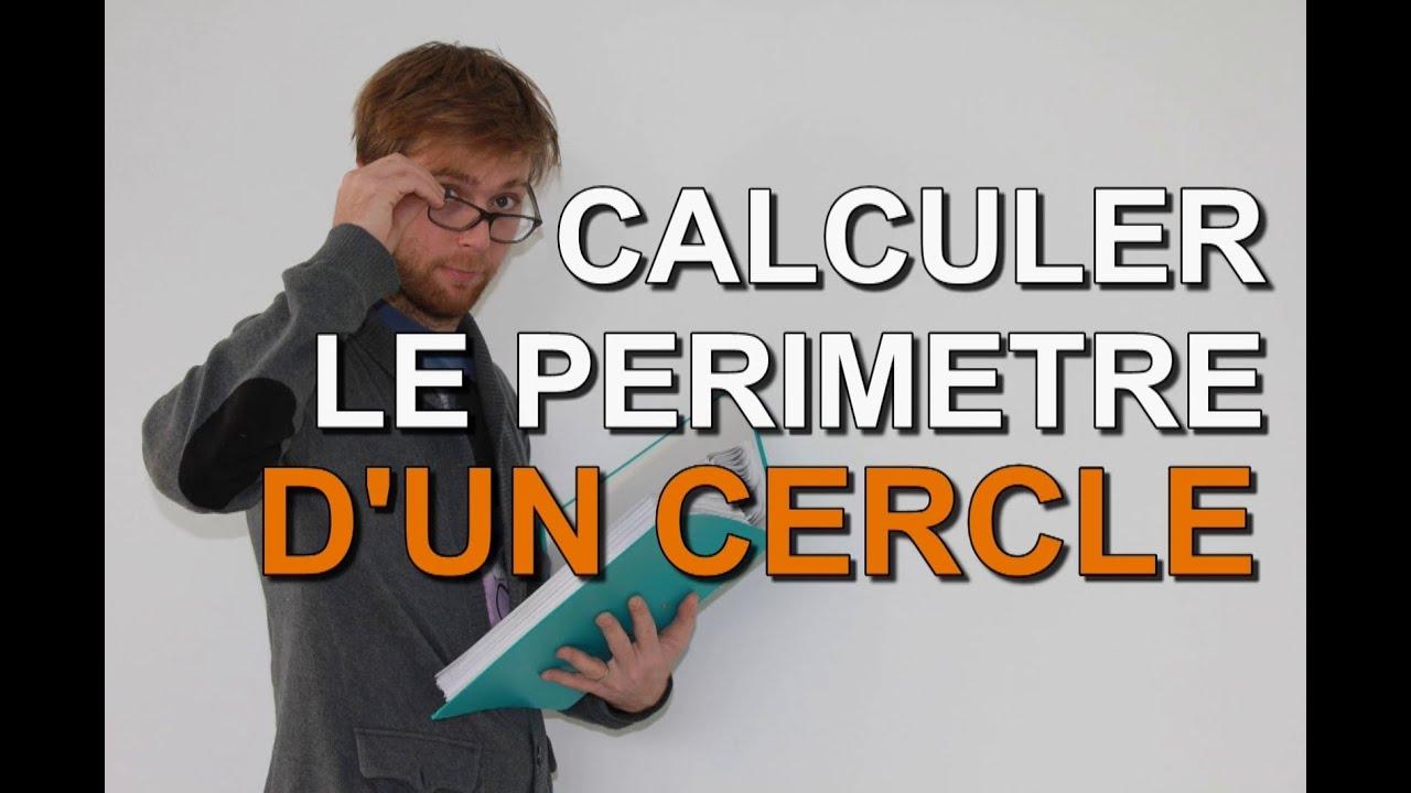 Perimetre d 39 un cercle methode de calcul et exemples - Calculer le cubage d une piscine ...
