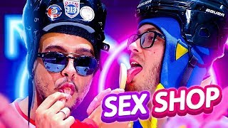 Provando comida de SEXSHOP 🤪😈 || Fábrica de Gordos ft. Vinie (+18)