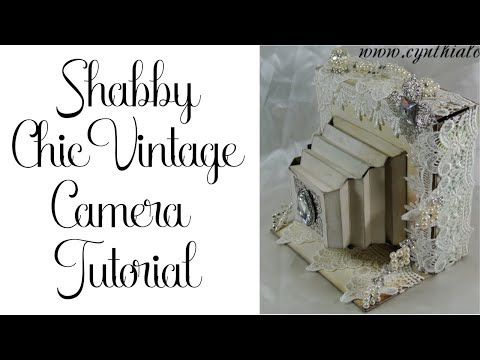 Vintage Camera Tutorial by Cynthialoowho!