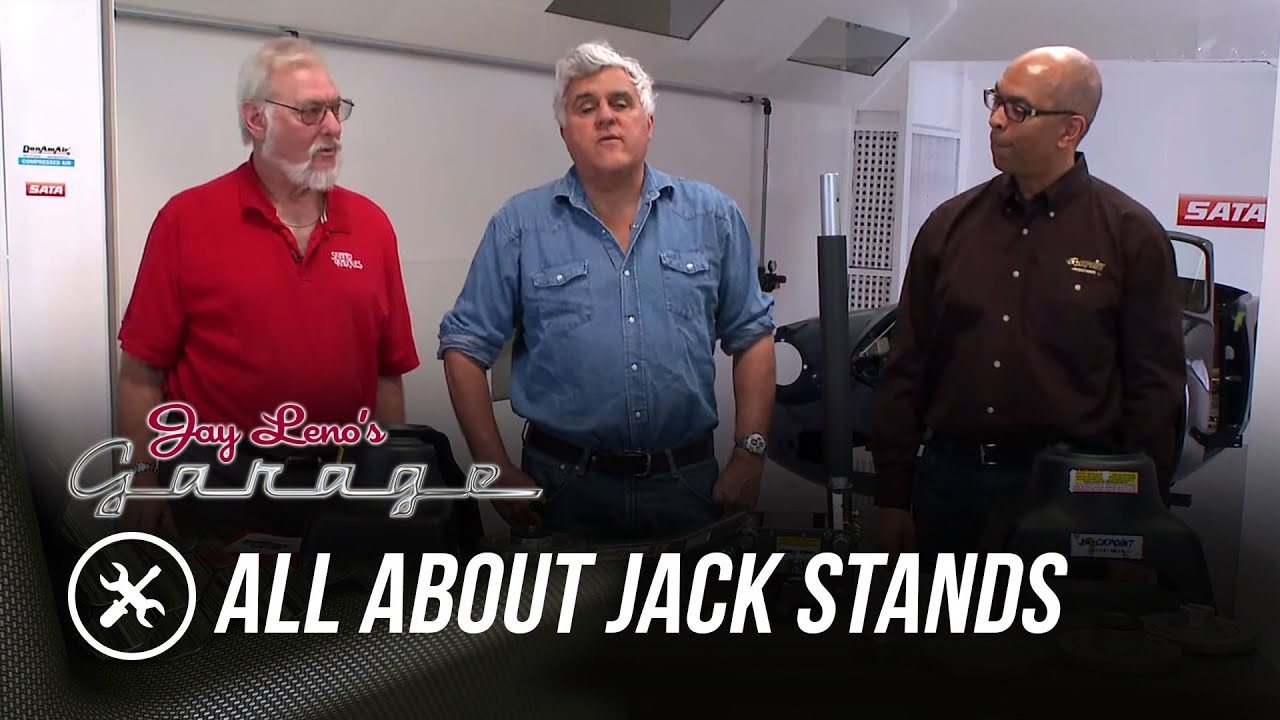 Skinned Knuckles: All About Jack Stands   Jay Lenou0027s Garage